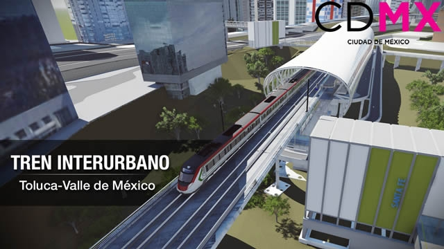 Tren Interurbano Toluca-Valle de México Tramo CDMX