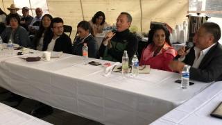 Pueblo originario de San Lorenzo Acopilco acepta proyecto de infraestructura hidráulica mediante consulta previa